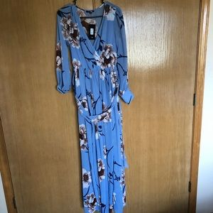 NWT LULUS Long sleeve maxi